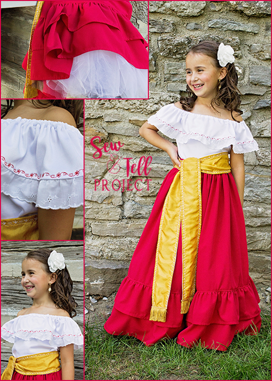 Lovely Senorita Costume from Zorro - Project Run & Play