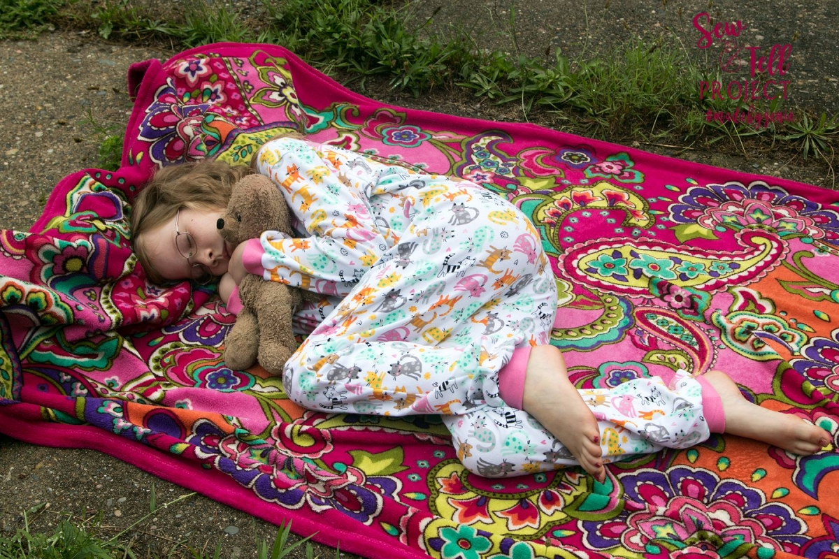 575798807 Ready for Bed with the Classic Zip Pajamas - The Sew and Tell Project